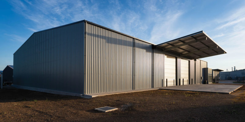 Steelcorp … It's Australian for shed